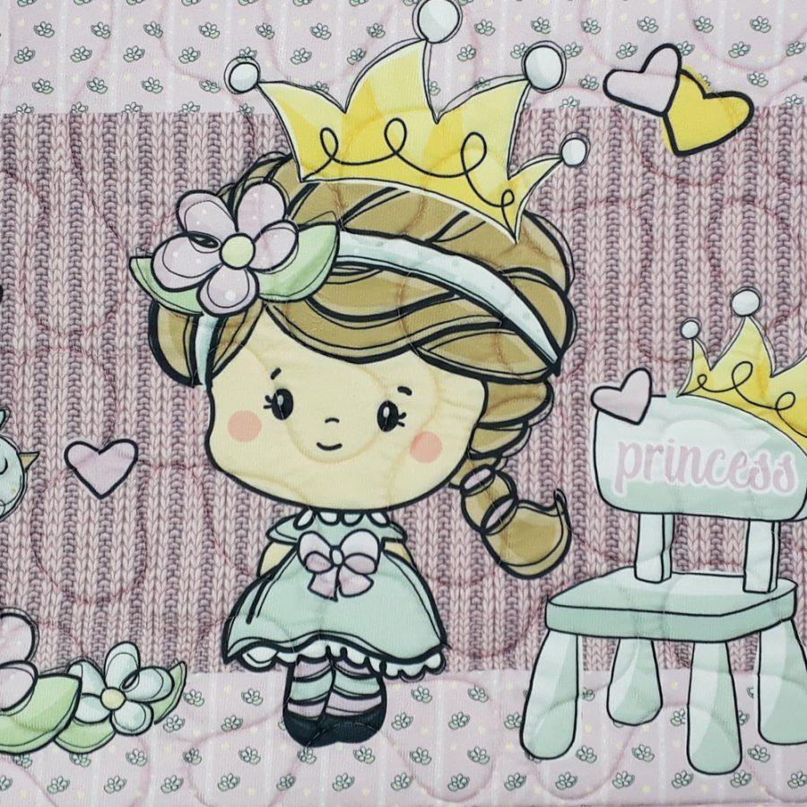 Tapete Infantil Antiderrapante Princesinha